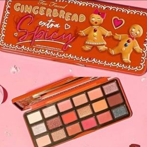 BNIB LE Too Faced Extra Spicy Gingerbread Palette!